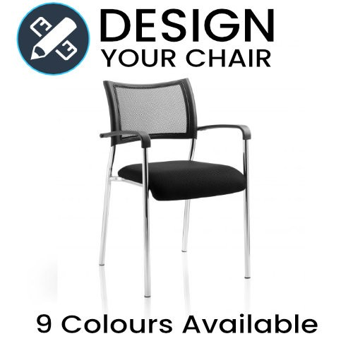 Design Your Brunswick Mesh Back Meeting / Visitors Chair