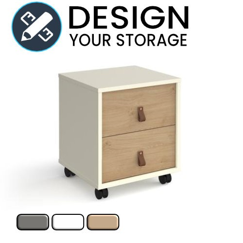 Design Your Cube Mobile Pedestal with Drawers