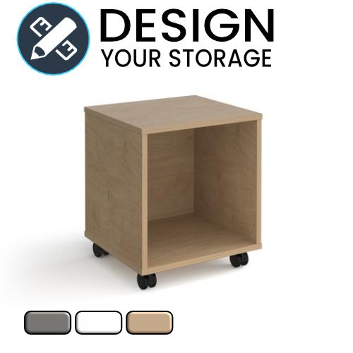 Design Your Cube Mobile Pedestal with Open Area