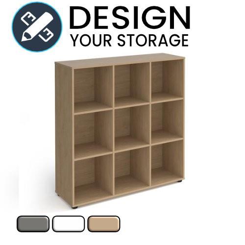 Design Your Cube Wooden Storage