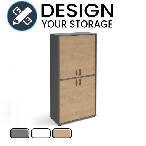 Design Your Universal Double Door Wooden Cupboard