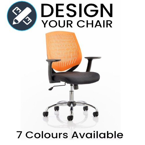 Design Your Dura Operator Chair with Coloured Air Mesh Back
