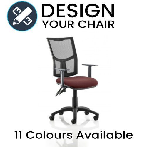 Design Your Eclipse Operator Chair with Mesh Back