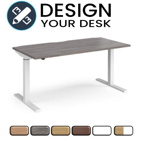 Design Your Sit Stand Desk with Single Motor Leg Frame