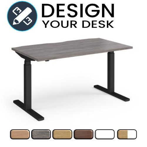 Design Your Sit Stand Desk with Twin Motor Leg Frame