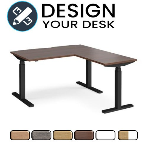 Design Your Sit Stand Desk with Twin Motor and Return Unit