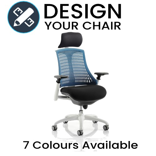 Design Your Flex Task Operator Chair with Coloured Back