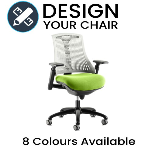 Design Your Flex Task Operator Chair with Coloured Seat