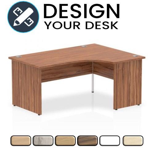 Design Your Impulse Radial Desk with Panel End Leg