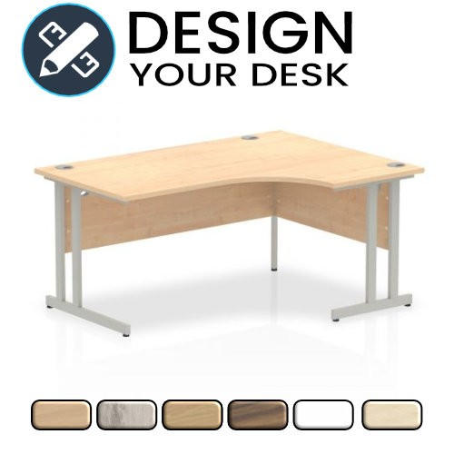 Design Your Impulse Radial Desk with Cantilever Leg Frame