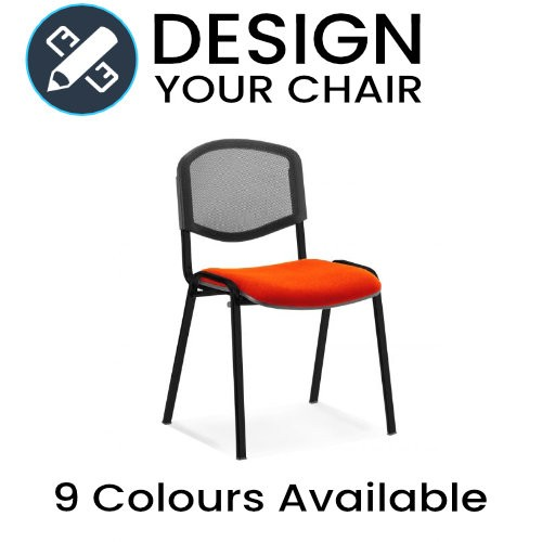Design Your ISO Mesh Meeting / Visitors Chair