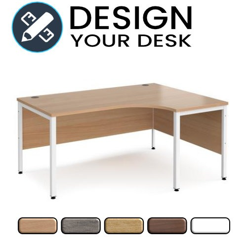 Design Your Radial Desk with Bench Leg