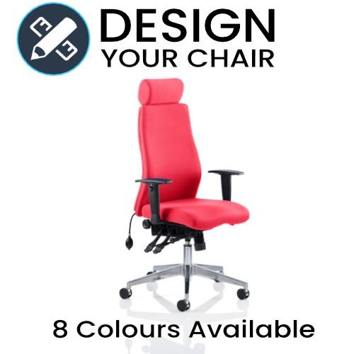 Design Your Onyx Posture Chair with Matching Back and Seat