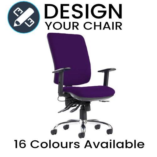 Design Your Senza Ergo Executive Chair