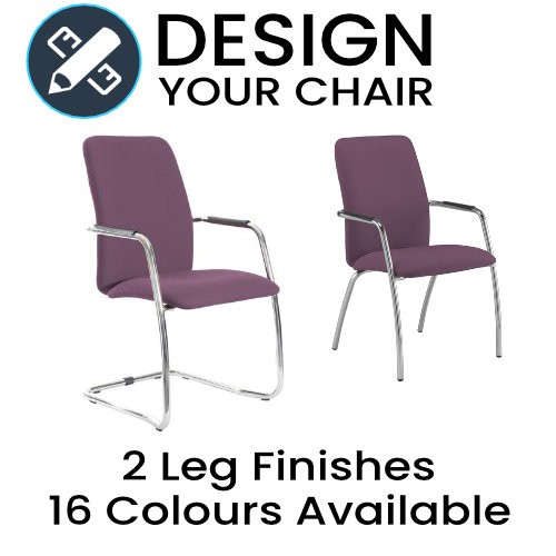 Design Your Tuba Full Back Meeting / Visitors Chair
