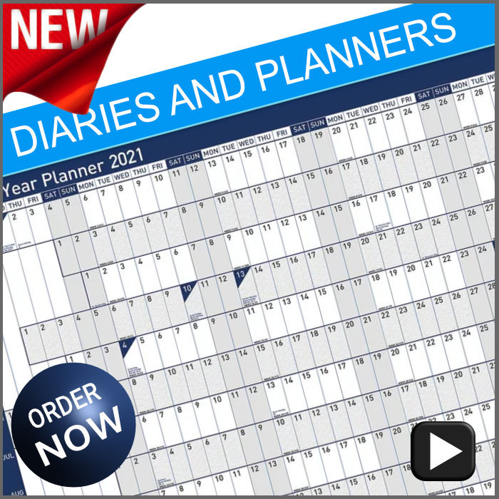 2021 Diaries and Planners