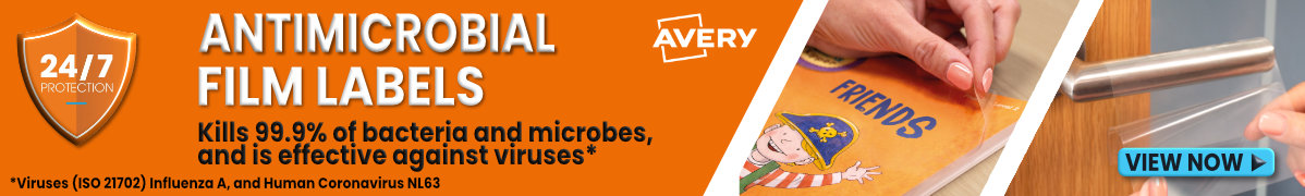 Avery Antimicrobial labels