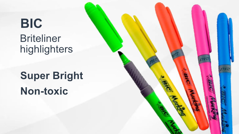 Bic Briteliner Highlighters