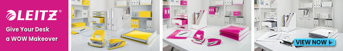Leitz WOW Lever Arch Files