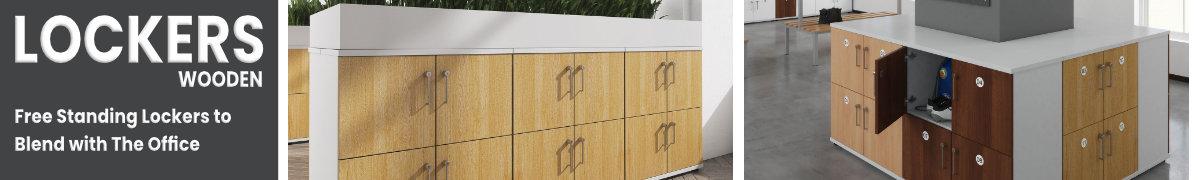 DAMS Wooden lockers