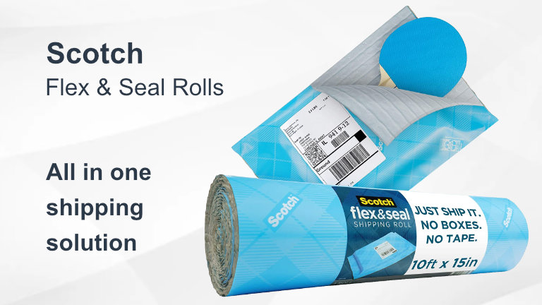 Scotch Flex and Seal Rolls