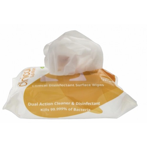 Uniwipe Clinical Disinfectant Surface Wipes Pack of 200