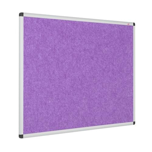 Eco-Colour Aluminium Framed Resist-a-Flame Boards - 1200 x 900mm - Purple
