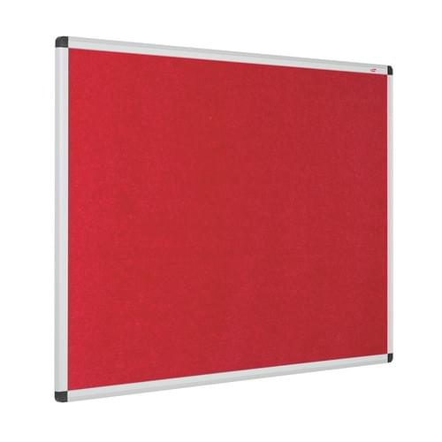 Eco-Colour Aluminium Framed Resist-a-Flame Boards - 1200 x 900mm - Red
