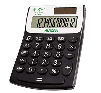 Eco Friendly Calculators