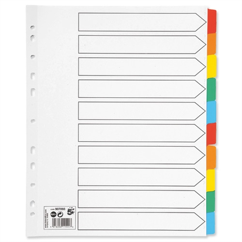 Eco Friendly Dividers & Indexes
