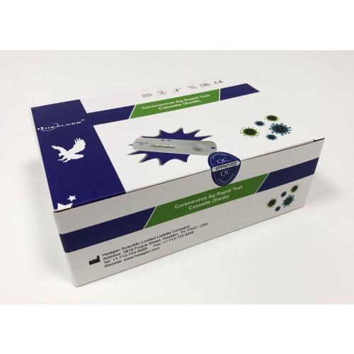 Healgen Covid-19 Antigen Rapid Test Kit (1 box of 20 tests)