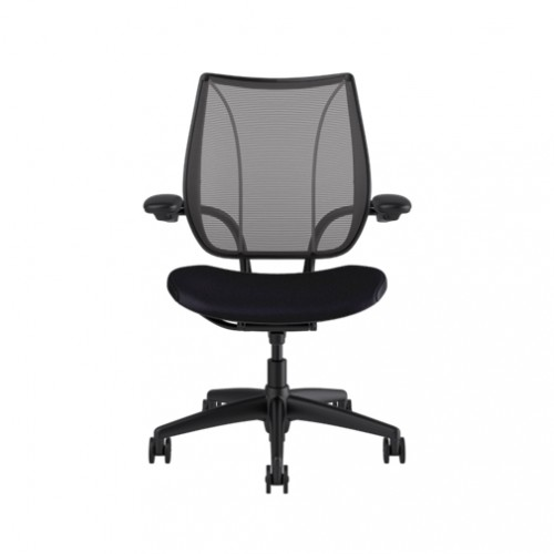 Humanscale Liberty Task Chair Pinstripe Black Mesh
