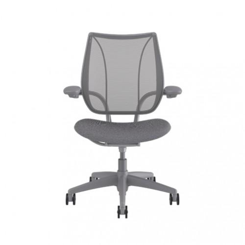 Humanscale Liberty Task Chair Pinstripe Silver Mesh