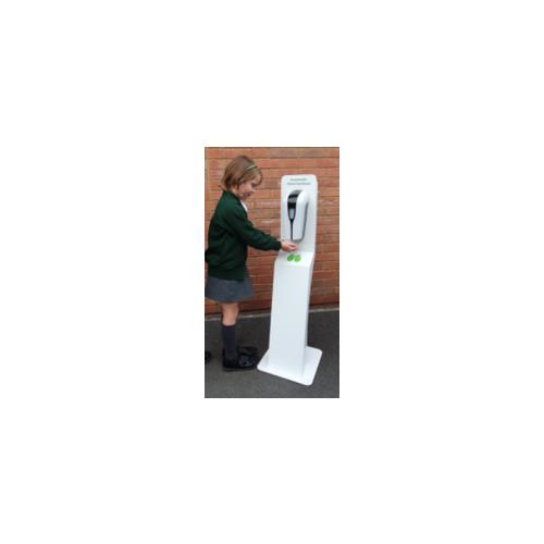 Floor Standing KIDS Automatic Sanitiser Station