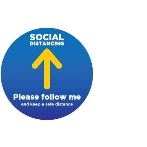 Follow Me Floor Stickers