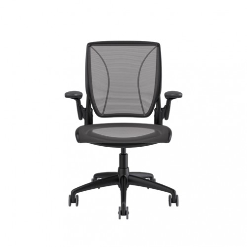 Humanscale Different World Black Pinstripe Chair