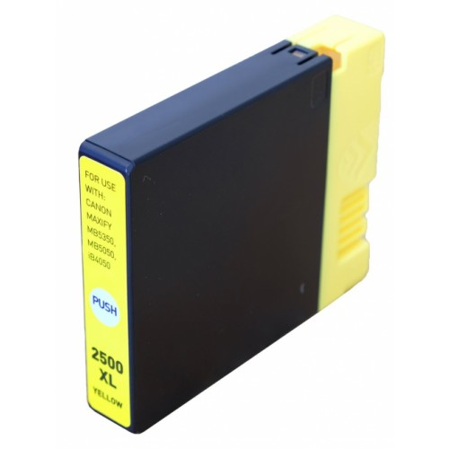 EasyOffice Canon PGI-2500XL Yellow Compatible Ink Cartridge