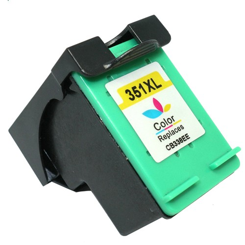 EasyOffice HP 351XL - CB337EE - Colour High Yield Remanufactured Ink Cartridge