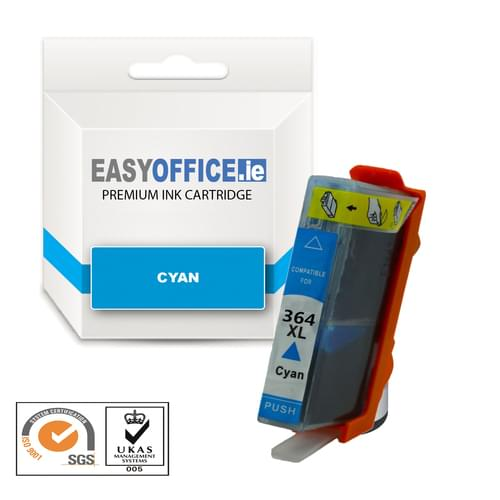 EasyOffice HP 364XL Cyan Compatible Ink Cartridge