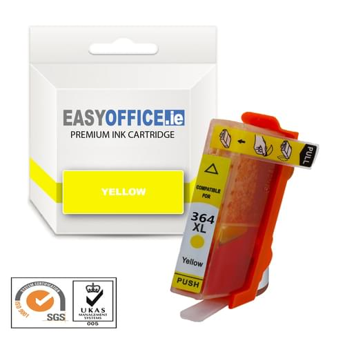 EasyOffice HP 364XL Yellow Compatible Ink Cartridge