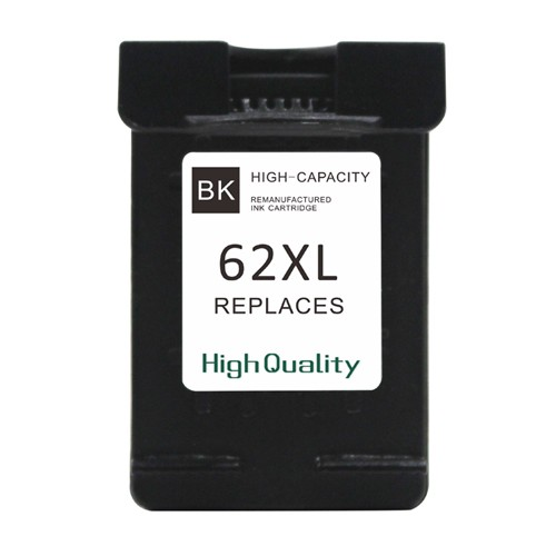 EasyOffice HP 62XL (C2P05AE) High Capacity Black Remaufactured Ink Cartridge