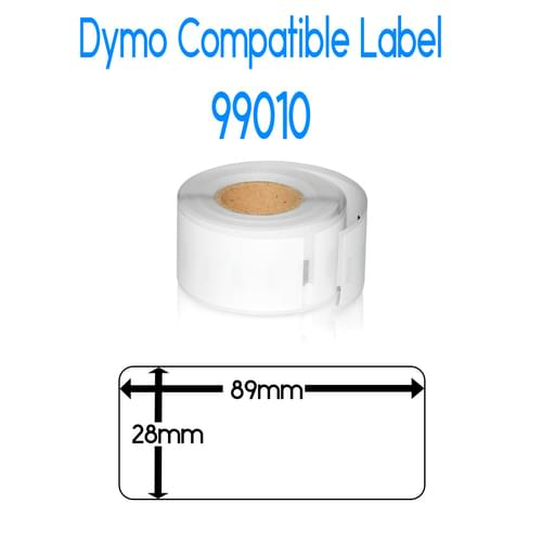 EasyOffice Dymo 99010 Compatible Labels