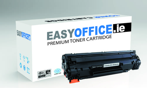 EasyOffice HP  35A CB435A Black Compatible Toner