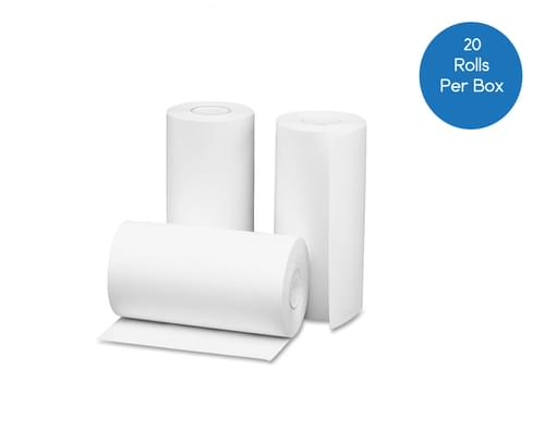 101.6mm x 54mm Thermal Roll White - Box of 20