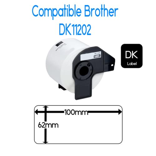 EasyOffice Brother DK11202 Compatible Labels