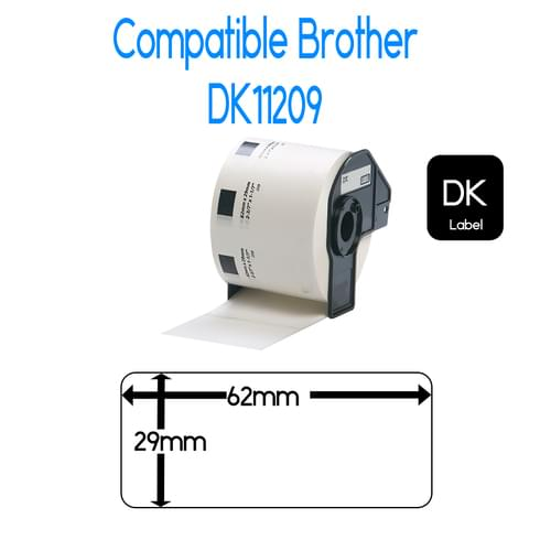 EasyOffice Brother DK11209 Compatible Label