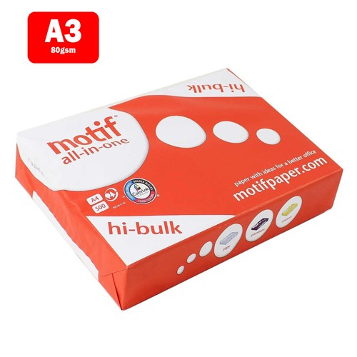 EasyOffice.ie Value 80gsm A3 Copier Paper (Pack of 500)