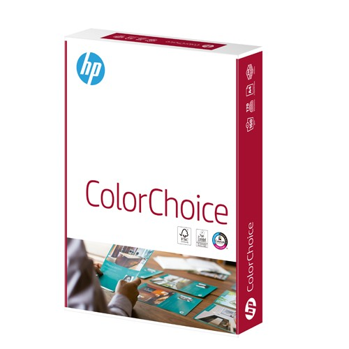 Hewlett Packard HP Color Choice Card Smooth Colorlok 160gsm A4 White Ref CHP754 250 Sheets