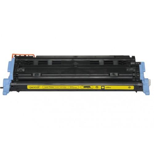 EasyOffice HP 124A Compatible Yellow LaserJet Toner Cartridge Q6002A