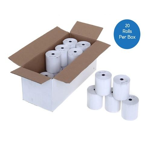57mm x 70mm Thermal Till Rolls - Box 20